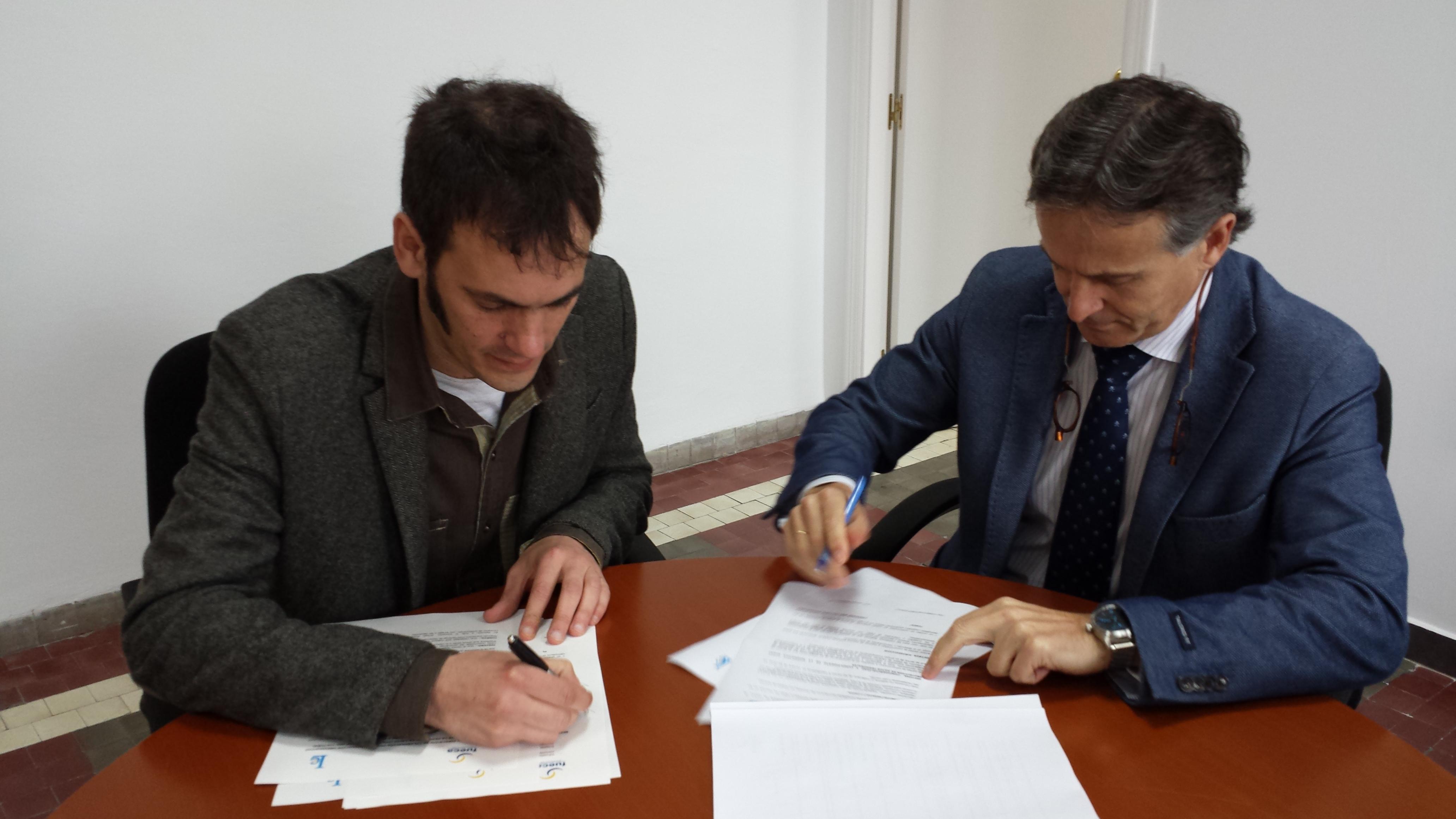 Firma de convenio Enele 2016