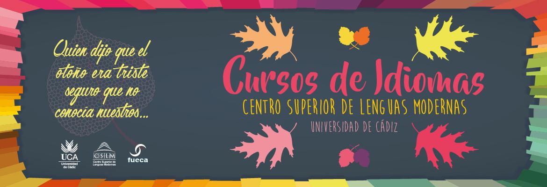 Cursos de otoño de idiomasCursos de otoño de idiomas