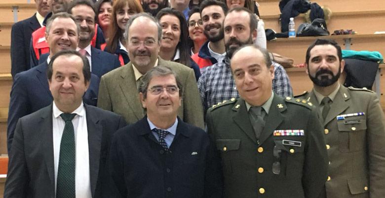 Acta de Clausura del II Máster y III Experto Universitario en Intervención y Gestión de Crisis, Urgencias y Emergencias Colectivas de la Universidad de Cádiz