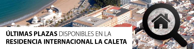 Últimas plazas residencia internacional la caleta