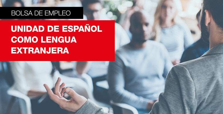Bolsa de trabajo: unidad de español